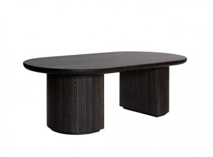 Coffee Table To Dining Table.Moon Dining Table Elliptical Skandinaviski Interjerai Skandinavų